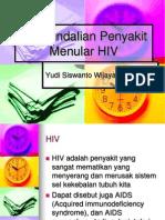 Pengendalian Penyakit Menular HIV
