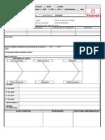 Modelo Relatório Investigação de Acidentes