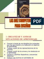 lasdiezcompetenciasperrenoudii-120103230649-phpapp02