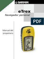 Manual de Gps ETrex