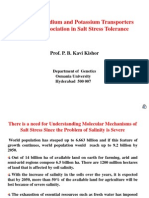 Lecture of Significance of Salt Stress
