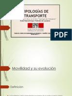 Grupo 1 - Tipologías de Transporte