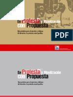 Guía práctica para el ejercicio y defensa del derecho a la protesta social y pacífica