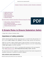 6 Simple Rules to Ensure Substation Safety _ EEP