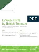 Meraki Cs LeWeb 2009 BT
