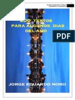 269. 200 TEXTOS PARA ALGUNOS DIAS DEL AÑO