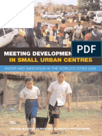Meeting Development Goals in Small Urban Centres - Water and Sanitation in the World's Cities 2006