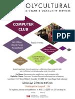 Computer Club July 2014