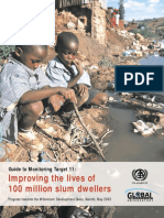 Guide to Monitoring MDG Target 11