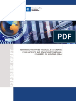 Complete ED, Reporting on Audited Financial Statements
