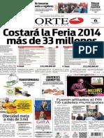 Periódico Norte edición del día 6 de agosto de 2014