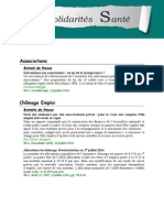 Info Solidarités Santé n° 96