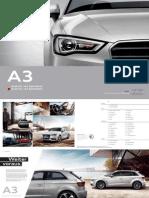 Audi A3 GTron Brochure