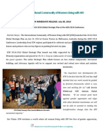 ICW Global Strategic Plan Press Release