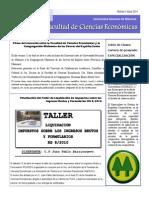 Boletin nº 3 Abril 2014