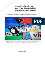East Timor Bibliography May 2009