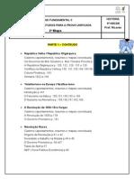 CONTEÚDO E ORIENTAÇÃO DE ESTUDOS PARA 9ºANO PU 2ª ETAPA 2014.doc