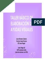 Taller Basico Elaboracion Ayudas Visuales
