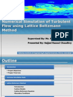 Basics of Lattice Boltzmann Method for Fluid Flows