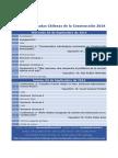 Programa Jornadas Chilenas de la Construcción