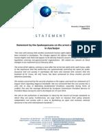 Statement EU