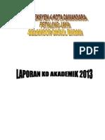 laporan koakademik 2012