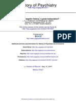 History of Psychiatry 2007 Engstrom 267 73