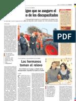 2009 12 03 Visita a Compost y Entrevista a Hermanos GACETA