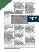 1995 Issue 8 - The Spirit of Evangelism