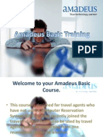 Amadeus BAaic Training 1