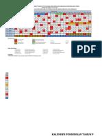 Kalender Pendidikan 2014-2015 JATIM