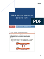 03--SAP NetWeaver Architecture, Part 2--Student Version