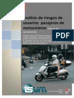 Análisis de Riesgos de Usuarios Pasajeros de Motocicletas.