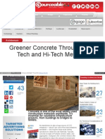 Sourceable Net Greener Concrete Low Tech Hi Tech Methods