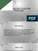 Analisis Del Flujo Del Proceso