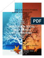 Apreciación social de la Ciencia en La Periferia