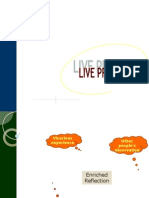 Live Project Format