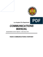 LAFD Radio Comm Manual Jan11