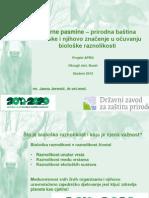Izvorne Pasmine - Prirodna Baština Hrvatske i Njihovo Značenje u Očuvanju Biološke Raznolikosti - DZZP-APRO, Okrugli Stol 2012.