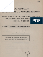 International Journal of Sex-Economy and Orgone-Research, Volume 2, Number 1, 1943