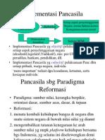 Pertemuan 2 Implementasi Pancasila