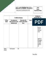 Challan Form No.32 A