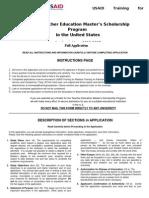 MESP Full Application