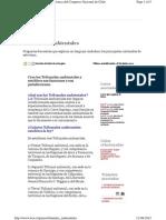 BCN- Ley Facíl- Tribunales Ambientales