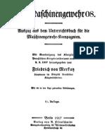 """Friedrich von Merkatz """"Auszug aus dem Unterricht für die Maschinengewehr Kompagnien. Das Maschinengewehr 08"""" (1917).pdf"""
