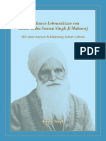 Kirpal Singh – UoM – Eine kurze Lebensskizze von Hazur Baba Sawan Singh Ji Maharaj