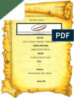 Administración v Didactica Machado Manchay Angel Jonathan Trabajo Grupal Nº 01 Responsabilidad Social.