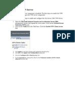 ISA Server 2004 - Configurar Una VPN