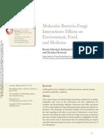 2168 Molecular Bacteria-fungi Interactions 2013