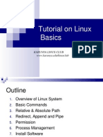 Linux Tutorial